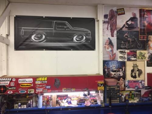 BIG BANNER F-150 Truck /& Ford Lightning T-Shirt 1990 1991 1992 1993 1994 1995 96