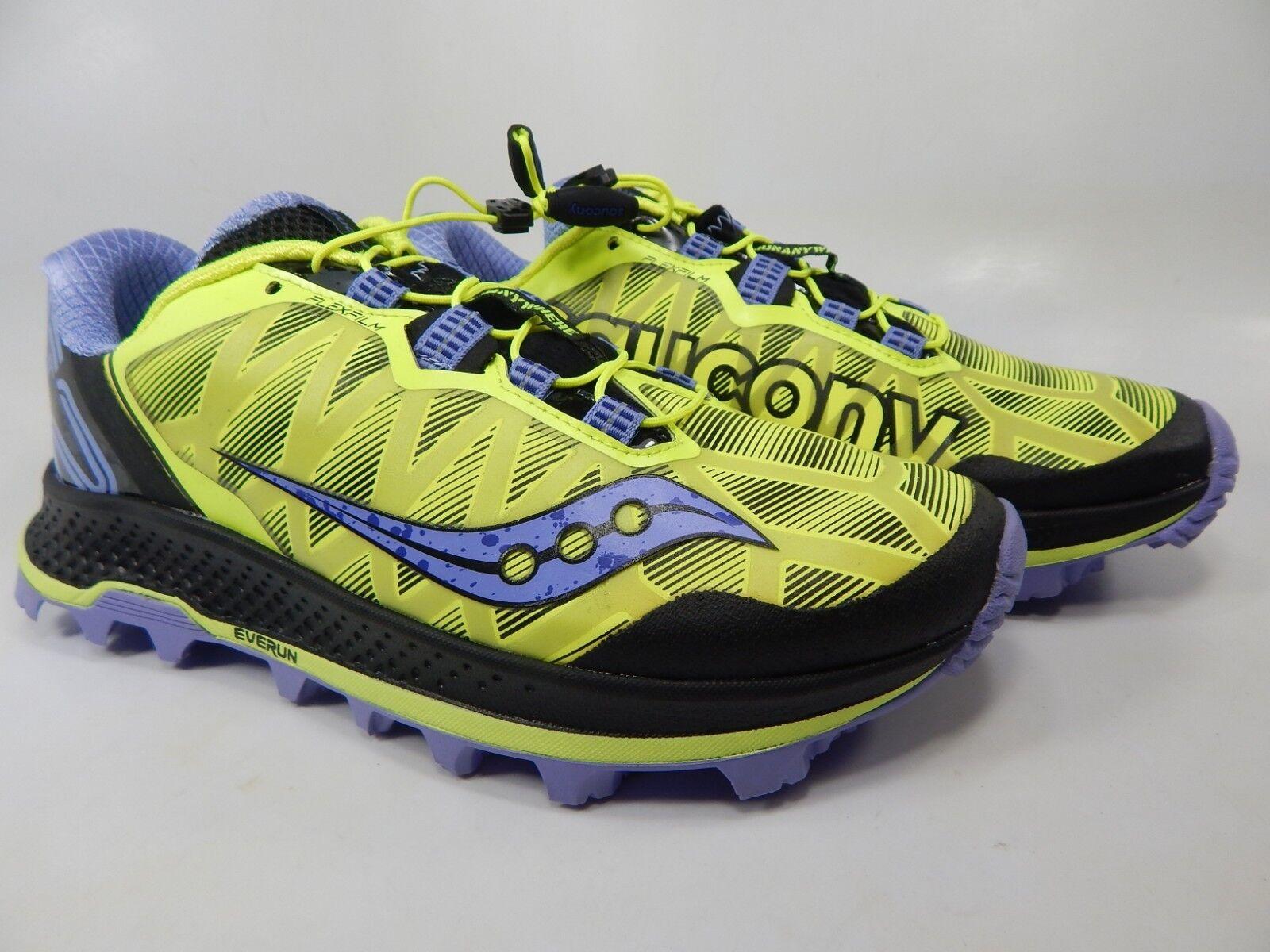 Saucony Koa San Taglia 8 M (B) Eu 39 Donna Scarpe da Corsa Trail Limone S10391-1