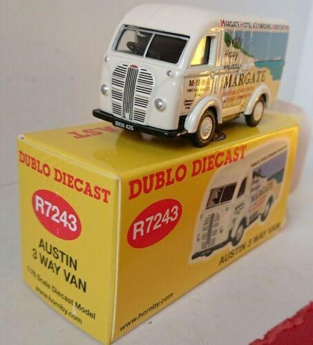 Hornby 1//76 dublo Diecast R7243 Austin 3 Way Van NEW