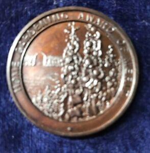 Rare Bronze Home Gardening Award Of Merit