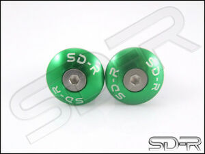 SD-R-Aluminum-Button-Handle-Bar-Ends-Moto-Guzzi-GRISO-Green