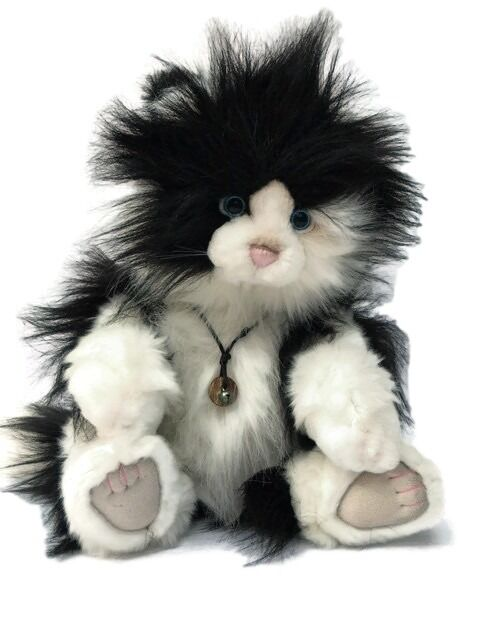 Collectable Charlie Bear  Alleycat  Cat Bear By Isabelle Lee - Now Retirot