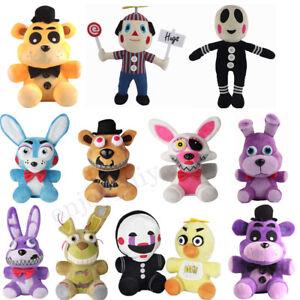 Five-Nights-At-Freddy-039-s-FNAF-Plush-Dolls-Horror-Game-Teddy-Toys-7-034-12-034-34Styles
