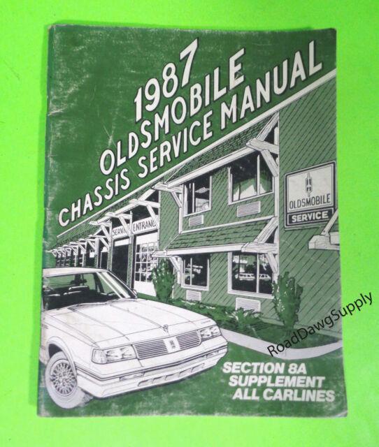 1987 Oldsmobile Cutlass Supreme Custom Cruiser Wiring ...