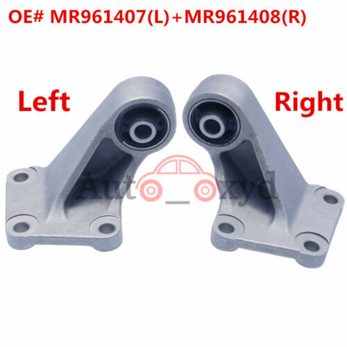 MR961407//8 L+R Rear Differential Support Mount Bushing For Outlander AWD 2003-06