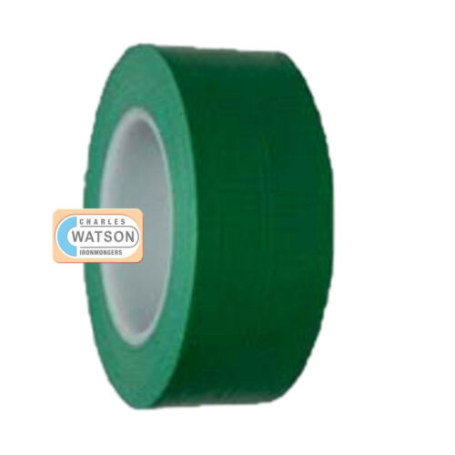 GREEN 50mm x 50m Gaffa Gaffer Cloth Tape Duck Duct Waterproof Heavy Duty Strong