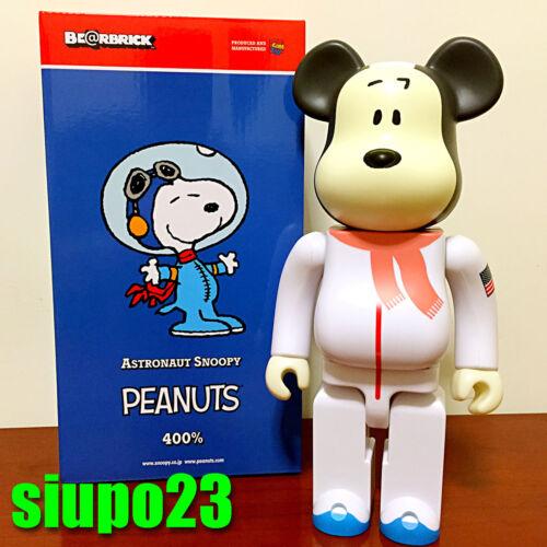 Medicom 400/% Bearbrick ~ Astronaut Snoopy Peanuts Be@rbrick