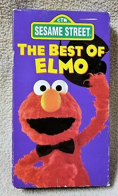 THE BEST OF ELMO Vhs Video Tape 1994 Sesame Street Muppets ... The Muppet Movie Vhs 1994