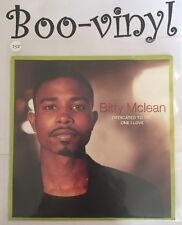 """BITTY MCLEAN Dedicated To The One I Love 7"""" VINYL It Keeps Raining Live At EX Co"""