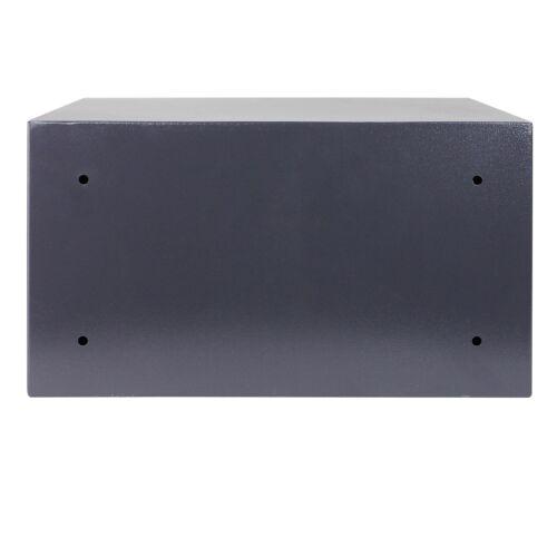 HMF 49204-11 Möbeltresor Doppelbartschloss 45 cm Safe Doppelbolzenverriegelung