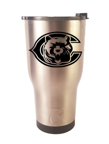 Chicago Bears RTIC Laser Engraved 20 or 30 oz Stainless Steel Tumbler
