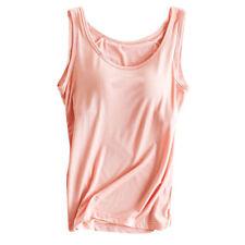 648f9a5742403 item 1 Women Camisole Cami With Built In Shelf Bra Slim Sleeveless Tank  Tops Vest Tops -Women Camisole Cami With Built In Shelf Bra Slim Sleeveless  Tank ...