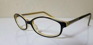 710b33b0b9 Image is loading GUCCI-GG-2468-Black-Yellow-Eyeglass-Frames