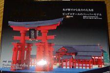 Itsukushima Shrine Deluxe Edition Paper Nano Kawada Laser Cut Paper Model PND003