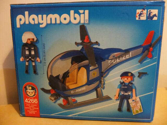 Playmobil 4266 Polizeihubschrauber NEU OVP