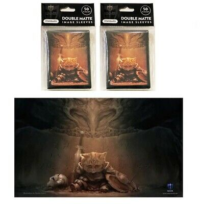 Pirate Jolly Rodger 100ct Max Pro MTG Size Double Matte Sleeves Deck Box Playmat