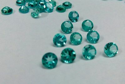 1mm - 6mm Natural Apatite Cut Round Calibrated Size Top Quality Loose Gemstone