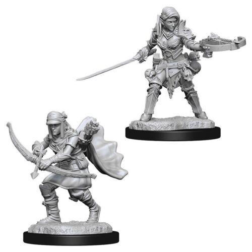Female Half-Elf Ranger Pathfinder Battles Deep Cuts Wizkids WZK73545