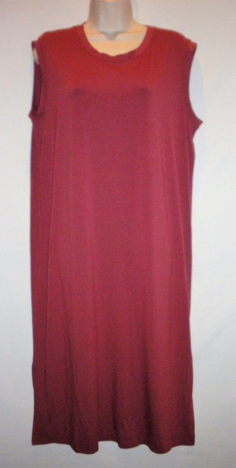 NWT  EILEEN FISHER Jersey Dress Plus Size 2X 2X 2X MSRP  218 pinkwood 7ed8d9