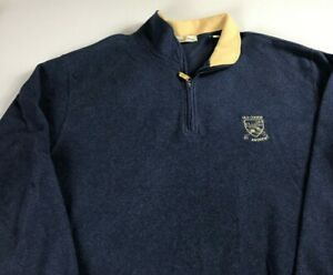 Old-Course-St-Andrews-Fleece-VTG-90s-Mens-SZ-M-L-Scotland-Golf-Jacket-Pullover