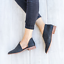 Women-Block-Heel-Leather-Ankle-Boots-Slip-On-Side-Cut-Out-Pointed-Toe-Shoes-Size thumbnail 5