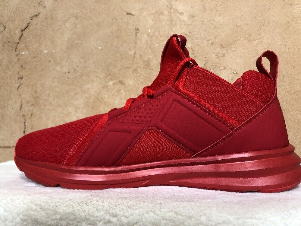 PUMA Men's Enzo Cross-Trainer shoes High Risk Red Size 10.5