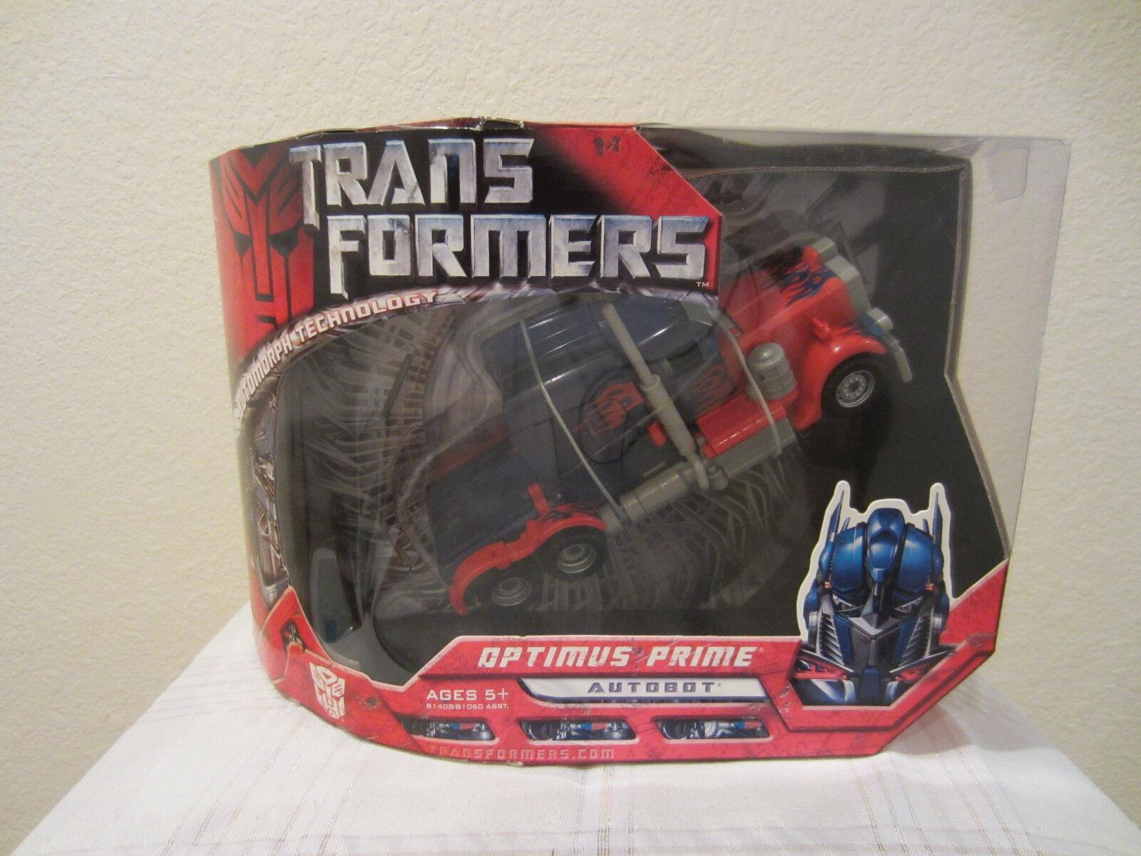 Transformers Hasbro 2007 Movie Voyager Class Autobot Optimus Prime MISB new