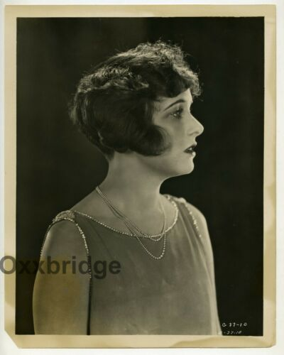 Corinne Griffith Young Silent Film Star 1920 Glamour Photo Original J5039