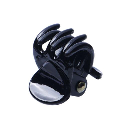 12Pcs//set Hair Crab for Little Girl Plastic Mini Hairpin Claws Hair Clip Clamp