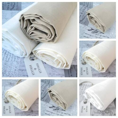 100/% LINEN FABRIC approx 370g per m WASHED NATURAL LINEN