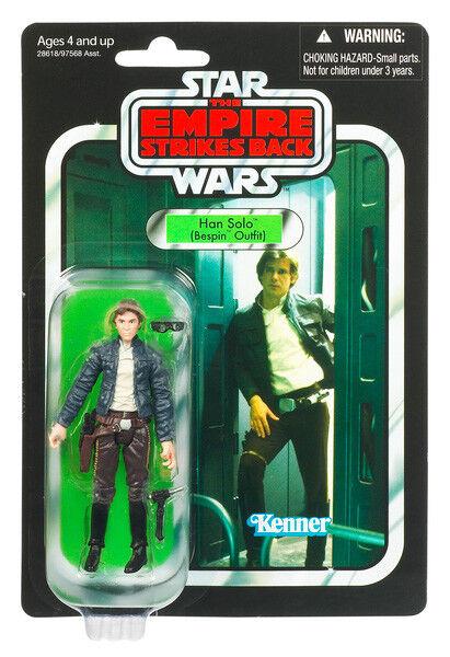 Star Wars Vintage 3.75 Inch Figure - Bespin Han (Ep V) VC50 (Shelf Wear)