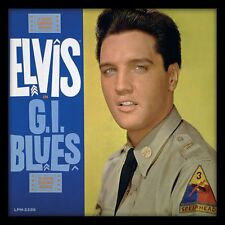 Elvis Presley - G.I. Blues - Framed Album Cover Print ACPPR48086