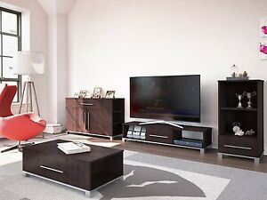 tv stand coffee table dark wood living room furniture range marlow