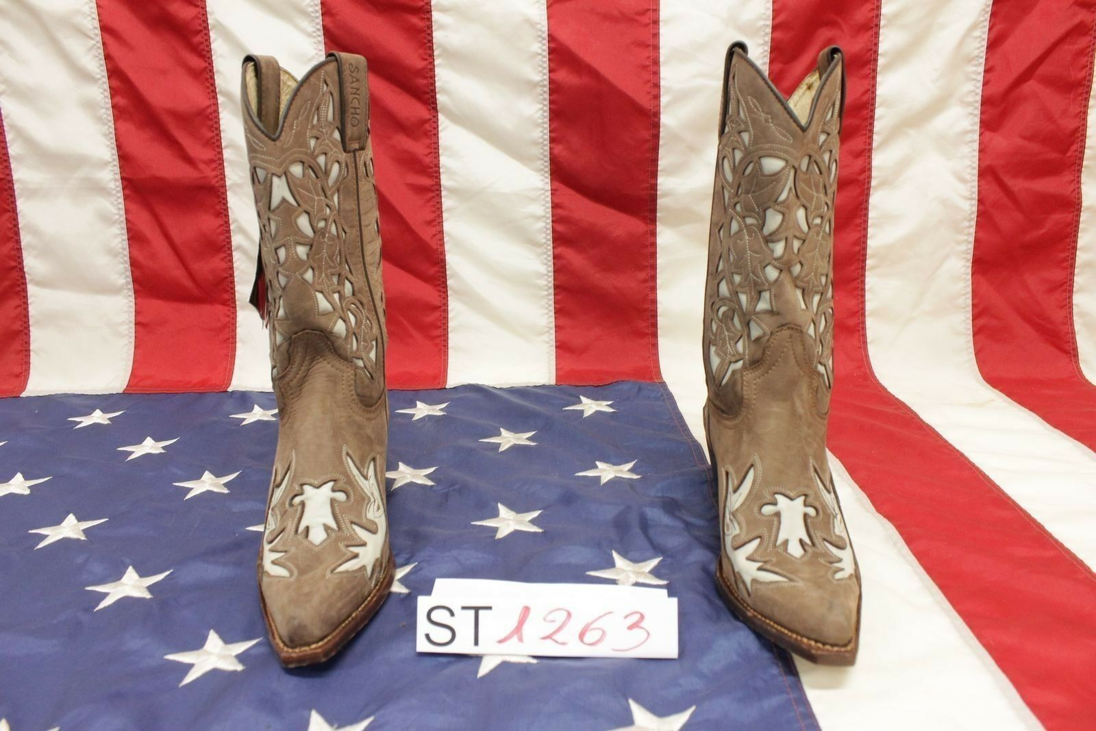 consegna rapida Stivali Stivali Stivali stivali Sancho (Cod.ST1263) N.37 cowboy camperos western donna  risparmiare sulla liquidazione
