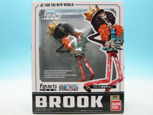 Figure Bandai Figuarts Zero One Piece Brook New World ver FROM JAPAN