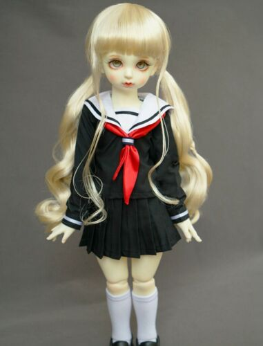 Uniform Suit For 1//4 1//6 BJD Doll Dollfie Outfits Hand Made PF