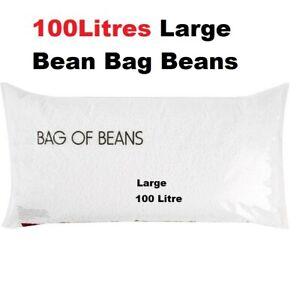 Superb Details About Large 100Litre Bean Bag Refill 100L Beans Polystyrene Beads Filler Filling Large Machost Co Dining Chair Design Ideas Machostcouk
