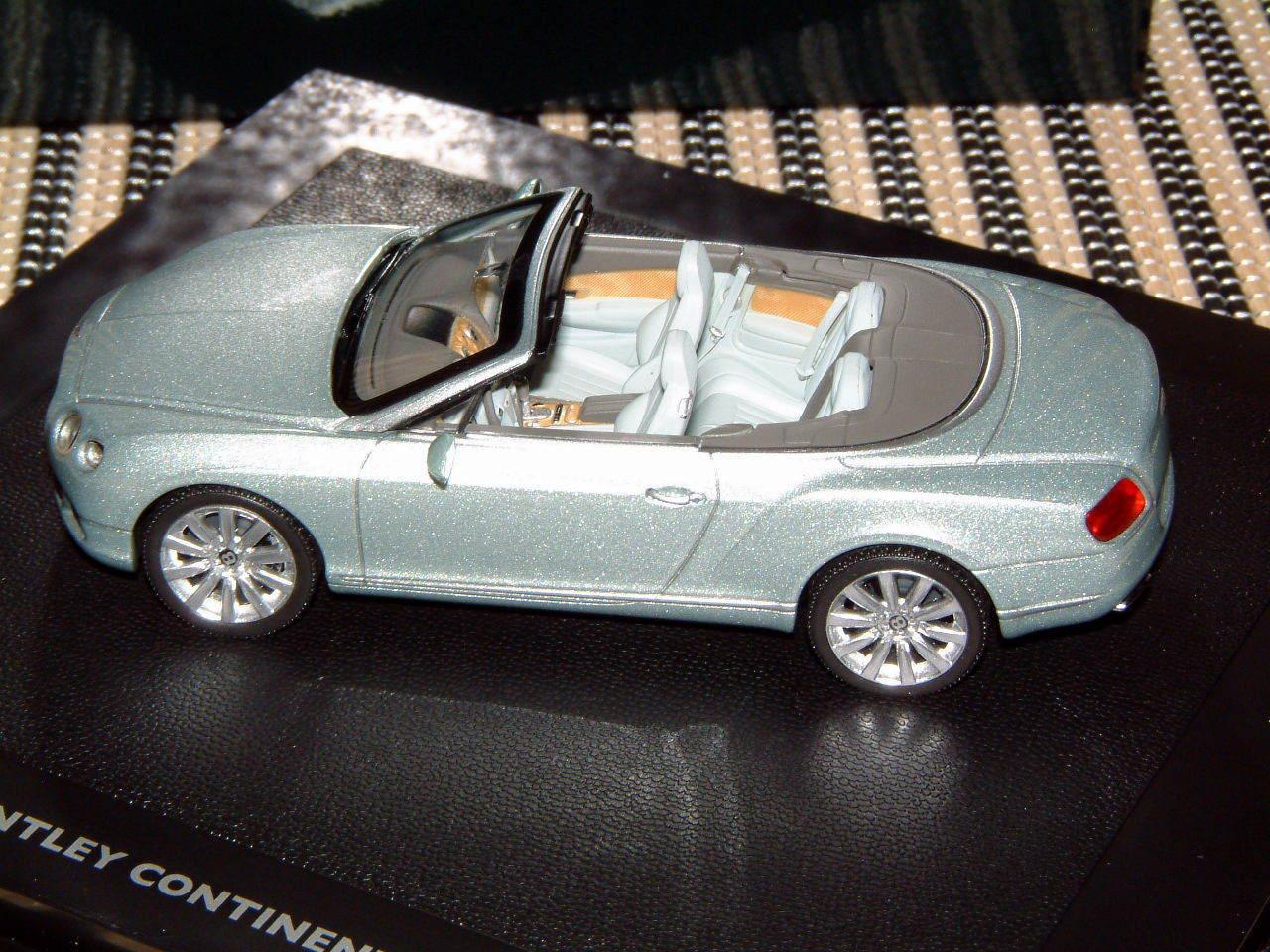 Bentley 1 43 ausmaß begrenzte druckguss continental gtc modell für 2011