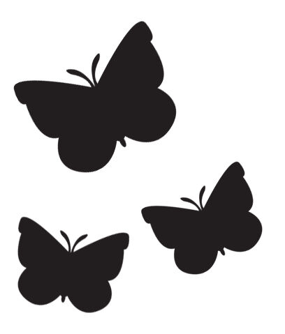 36 BUTTERFLIES PRINTS WAL STICKERS CAR STICKERS DECALS