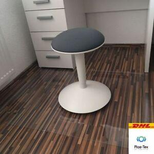 Bodenschutzmatte Bodenmatte Stuhlunterlage Transparent Klar Kleinmöbel & Accessoires Maß Nach Wunsch Büro & Schreibwaren