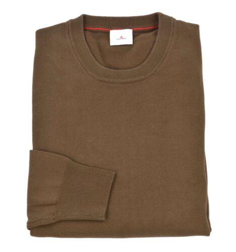 PEUTEREY uomo maglia pullover girocollo marrone OROYA PPT 02 847