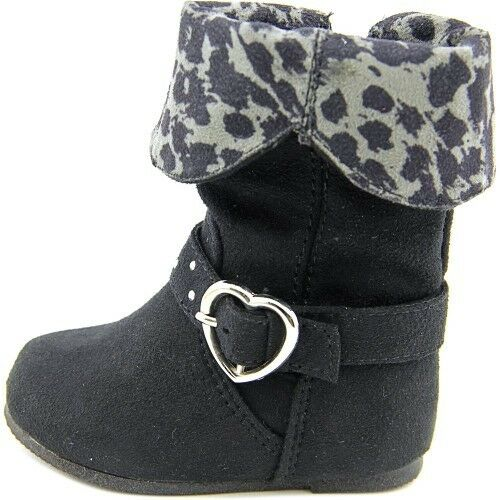New Toddler Sarah Jayne Rorie Boots Style 99124102 Black rt