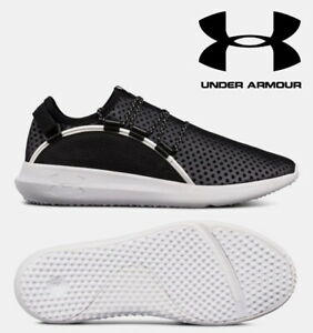 Under-Armour-RailFit-UA-Men-039-s-Running-Shoes-Black-Mesh-Trainers-24hr-DELIVERY