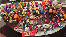 Lot of ~90 McDonalds, Burger King, Wendys, etc toys from the 80s and 90s
