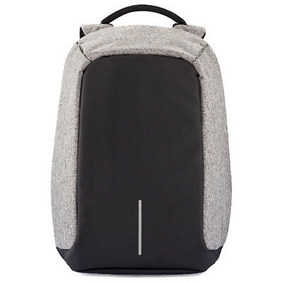 New Men's Xd Design Xd Design Bobby Anti-theft Backpack Grey Accessories Bags