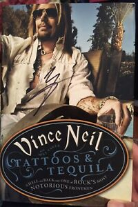 Vince neil tattoos and tequila book