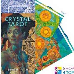 CRYSTAL-TAROT-DECK-KARTEN-ESOTERIC-FORTUNE-TELLING-LO-SCARABEO-NEU