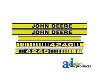 John Deere Parts Decal Set Jd4240 4240