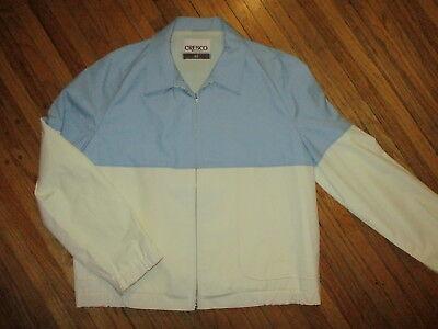 Energisch Vtg Cresco Jacke Mod Zweifarbig 60er Jahre 70er Windjacke Mantel Blau Weiß Größe