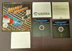 Marble Madness Arcade, Atari, 1987 IBM/Tandy/Compaq/ Game 5.25 Disks Rare Works
